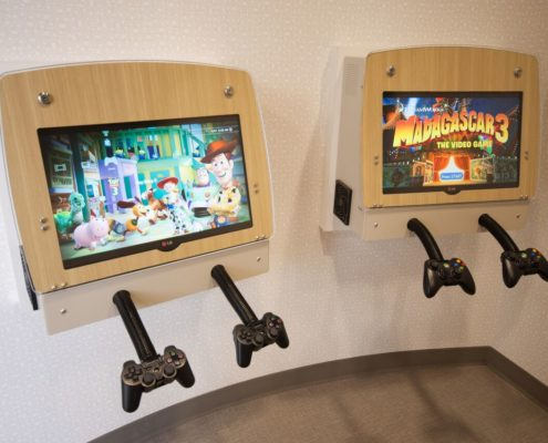Children's Dental Zone Mounted Video Games