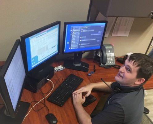 Digital Technology Partners Helpdesk Technician Chris King