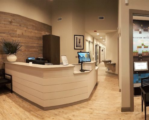 Charleston Orthodontic Specialists View From the Front Desk
