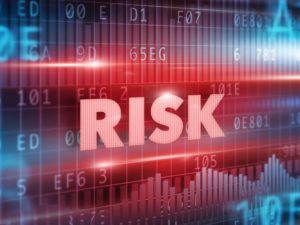 "Graphic depicting text ""Risk"""
