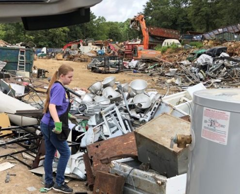 Arianna at Allied Recycling