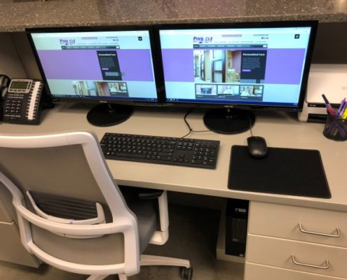 Dental Office Front Desk