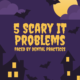 5 Scary IT Problems Faced by Dental Practices Blog Title Image
