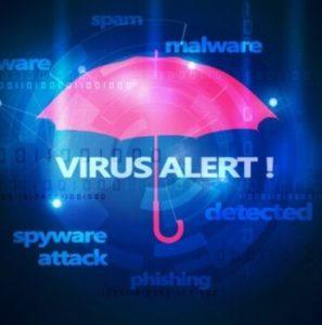 Dental security and virus alert